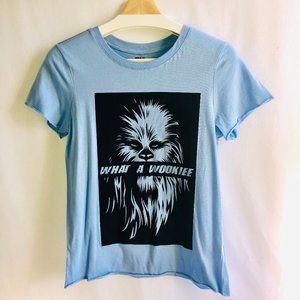 "STAR WARS Tee shirt ""WHAT A WOOKIEE"""